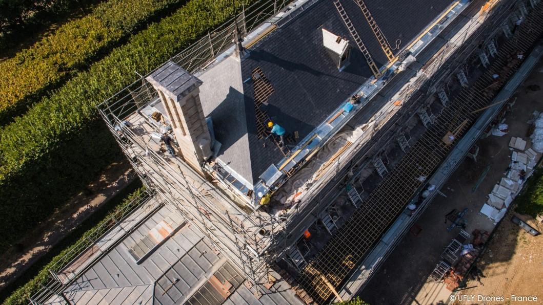 Ufly drones photographie par drone du lyc e lakanal for Application de suivi de chantier