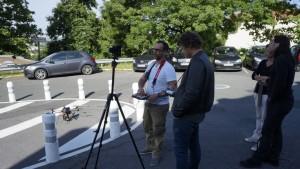 UFLY Drones - Serie TV par drone - tounage Nina - France 2 - 4