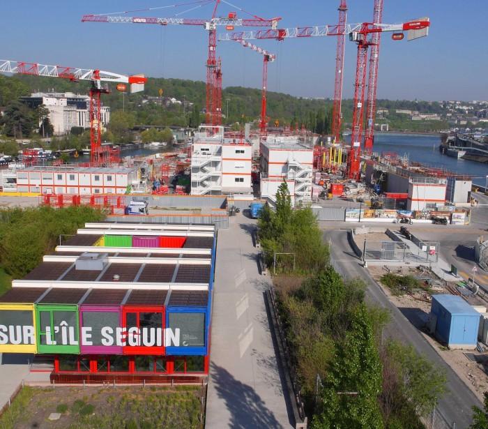 UFLY Drones - Suivi de chantier par drone - Citée Musicale - Ile Seguin - Boulogne - 92 (2304 x 1296)