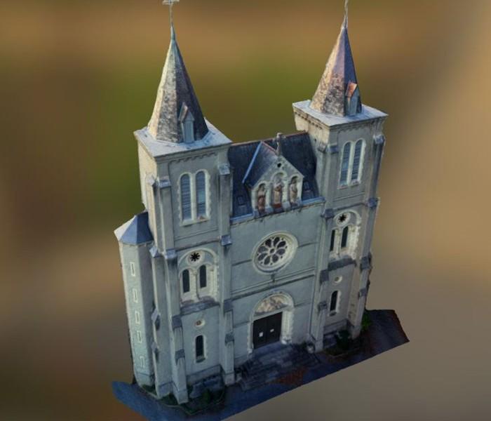 ULFY Drones - Photogrammétrie modélisation de facade