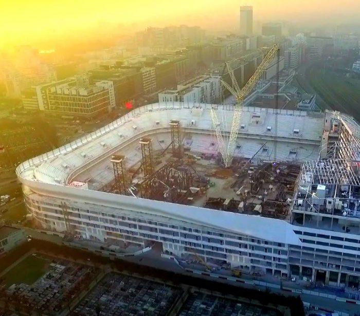 UFLY Drones - Suivi de chantier par drone - Arena v2 - Nanterre - 92