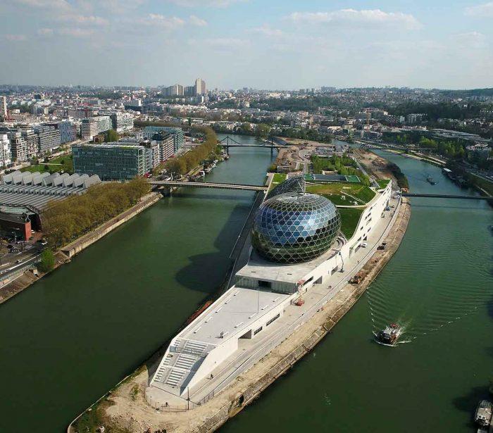 UFLY Drones - Inauguration Seine Musicale - Ile Seguin - Boulogne - 92
