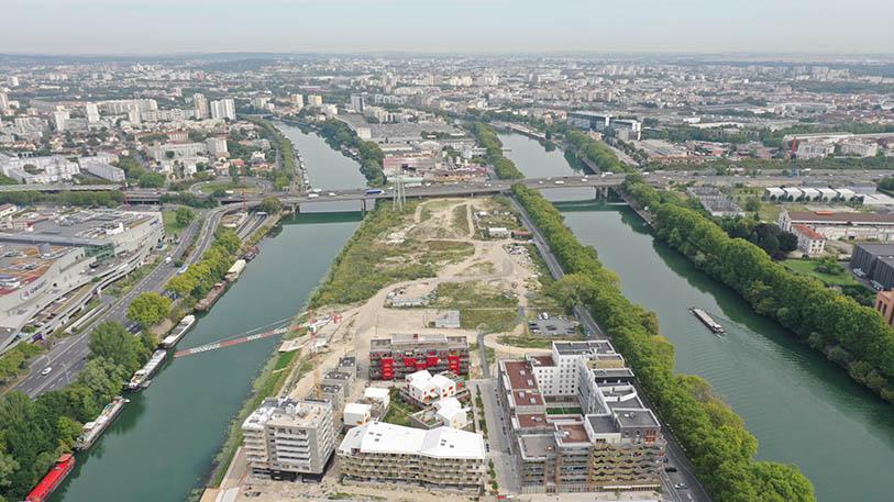 UFLY-Drones-photo-architecture-par-drone-Village-des-athlètes-JO2024-Ile-Saint-Denis-93-avant