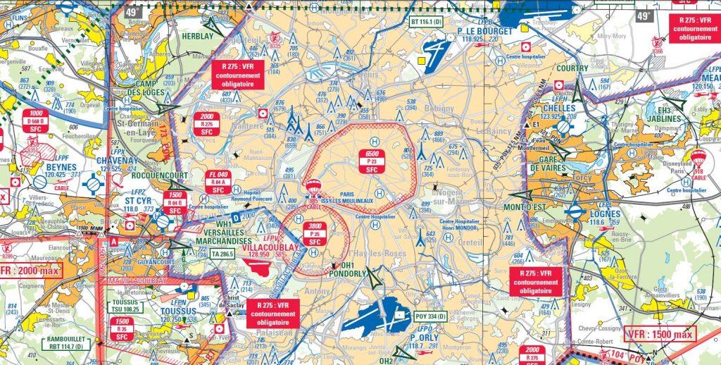 UFLY Drones - Réglementation - Carte aeronautique