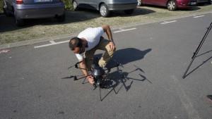 UFLY Drones - Serie TV par drone - tounage Nina - France 2 - 2