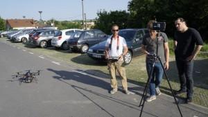 UFLY Drones - Serie TV par drone - tounage Nina - France 2 - 3