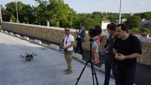 UFLY Drones - Serie TV par drone - tounage Nina - France 2 - 5