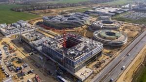 UFLY Drones - Suivi de chantier Saclay - Bouygues - Centre R&D EDF -1040255