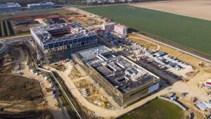 UFLY Drones - Suivi de chantier Saclay - Bouygues - Centre R&D EDF - P1040199