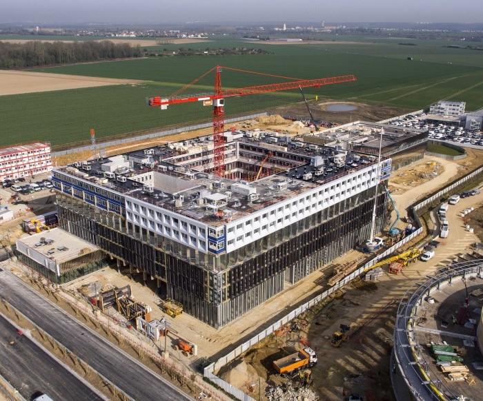 UFLY Drones - Suivi de chantier Saclay - Bouygues - Centre R&D EDF - P1040232