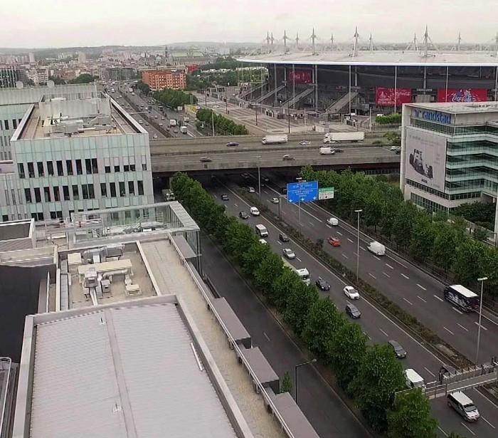 UFLY Drones - Vidéo corporate - Siège SNCF - Saint Denis 93