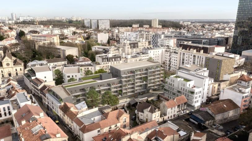 UFLY Drones - photo architecture par drone - montreuil 93 - après