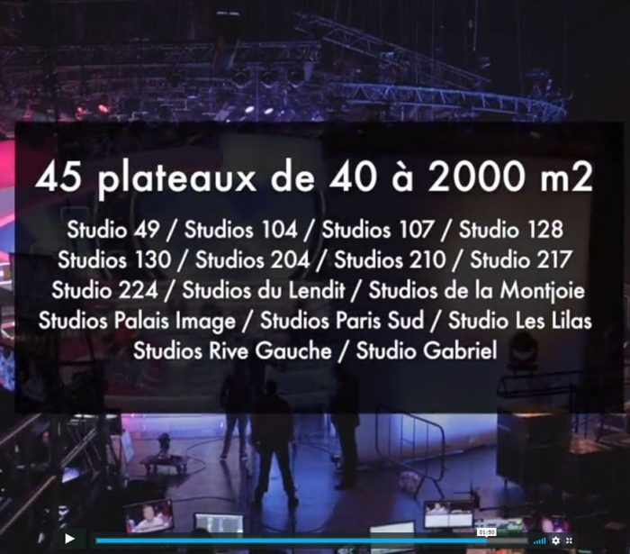 UFLY Drones - AMP Interactive - Studio de France - Paris - Saint Denis - 93